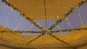 Marquee lighting hire Devon
