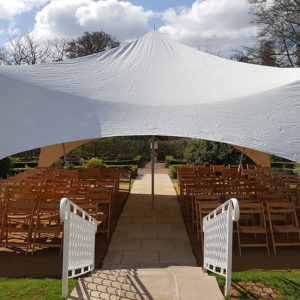 Wedding marquee hire Devon